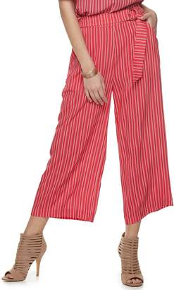 JLO by Jennifer Lopez Women's Pull On Belted Pants