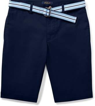 Ralph Lauren Slim Fit Belted Stretch Short