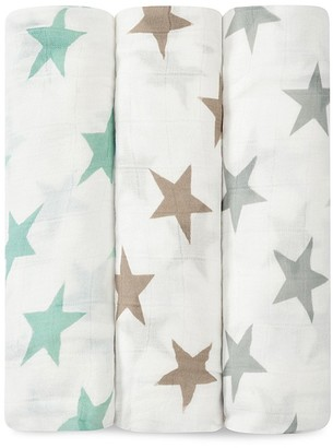 Aden + Anais Infant Unisex Star Print Silky Soft Swaddles $45 thestylecure.com