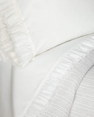 Pine Cone Hill Laundered Ruffle King Sheet Set