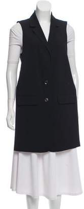 Marissa Webb Wool-Blend High-Low Vest