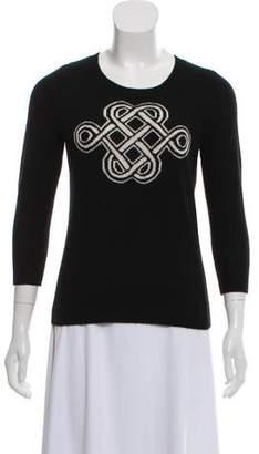 Diane von Furstenberg Cashmere Scoop Neck Sweater