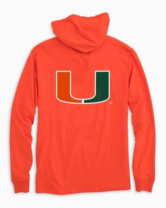 Southern Tide Miami Hurricanes T-Shirt Hoodie