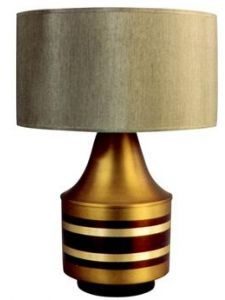 Babette Holland Lamps Striped Small Mercury Lamp