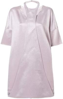 Valentino folded detail dress