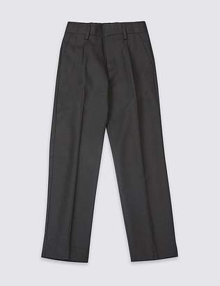 Marks and Spencer Boys' Wool Blend Trousers