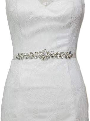 AffordableWedding Gemstone Bridal Belt