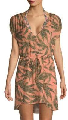 Tropical Self-Tie Coverup