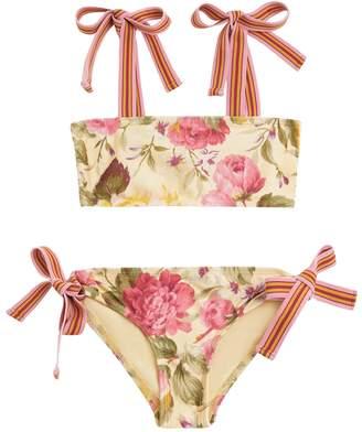 Zimmermann Honour Tie Bandeau Bikini
