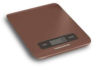 Morphy Richards Accents Electronic Kitchen Scale - Copper
