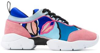 Emilio Pucci City lace-up sneakers