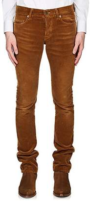 Saint Laurent Men's Corduroy Skinny Jeans - Beige, Tan