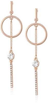 GUESS Mismatched Ears Women's Post Drop Earrings