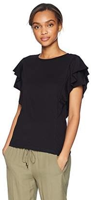 Vero Moda Women's Danny Short Sleeve Ruffle Top