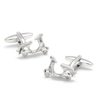 Brooks Brothers Sterling Scooter Cuff Links
