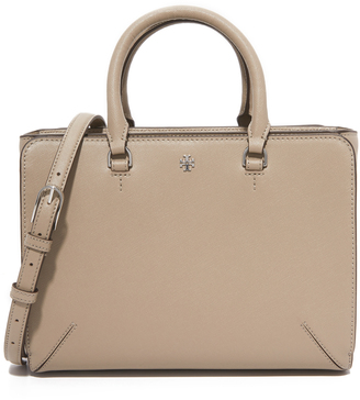 Tory Burch Robinson Small Zip Tote $495 thestylecure.com