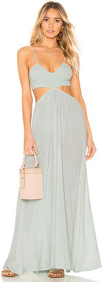 Indah Innocence Cutaway Maxi Dress