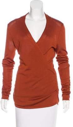 Magaschoni Knit Long Sleeve Top