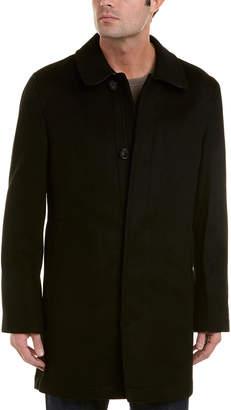 Hart Schaffner Marx Douglas Wool-Blend Coat