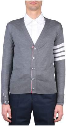 Thom Browne Merino Wool Striped Cardigan