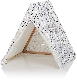 DEUZ Geometric-Print Organic Cotton Tent