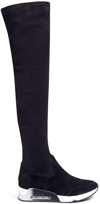 Ash 'Limited' sueded thigh high boots