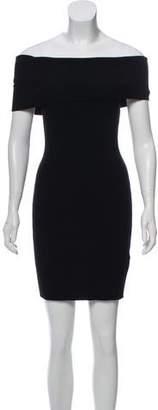 A.L.C. Mercier Off-The-Shoulder Knit Dress w/ Tags