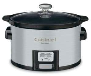 Cuisinart 3.5 Quart Programmable Slow Cooker