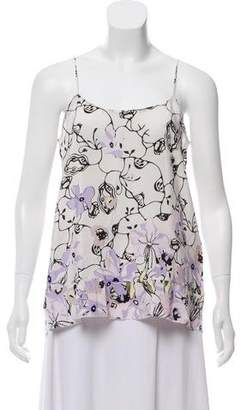 Schumacher Dorothee SIlk Printed Camisole w/ Tags