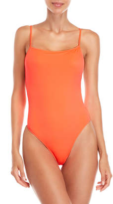 Solid & Striped Chelsea Neon One-Piece Swimsuit