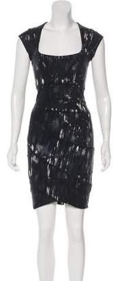 Kelly Wearstler Short Sleeve Bodycon Dress