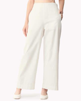 Theory (セオリー) - 【Theory】Cotton Taffeta Wide Leg Pull On Pant
