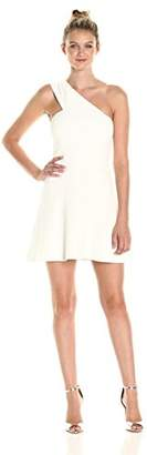French Connection Women's Whisper Light Sleeveless Strappy Stretch Mini Dress