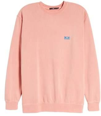 Obey Flashback Pigment Dyed Sweatshirt