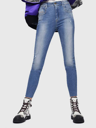 Diesel SLANDY-HIGH Jeans 086AB - Blue - 27