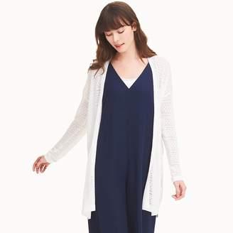 Uniqlo WOMEN Linen Blend Lacy Cardigan
