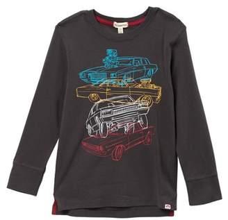 Appaman Car Stack Graphic Long Sleeve Tee (Toddler, Little Boys, & Big Boys)