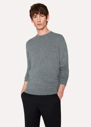 Paul Smith Men's Grey Marl Cashmere Sweater