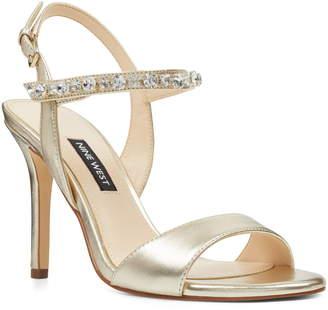 Nine West Madison Crystal Embellished Sandal