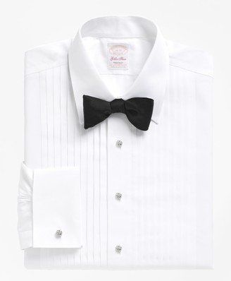 Brooks Brothers Non-Iron Madison Fit Golden Fleece Tuxedo Shirt