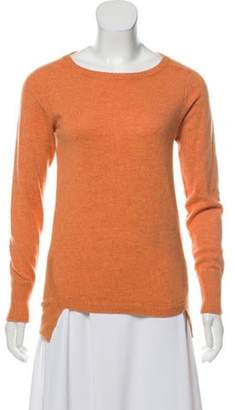Brunello Cucinelli Cashmere Long Sleeve Top Orange Cashmere Long Sleeve Top