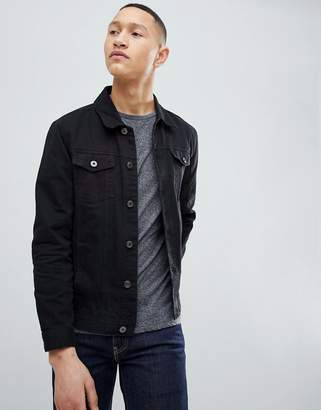 Brave Soul Classic Denim Twill Jacket