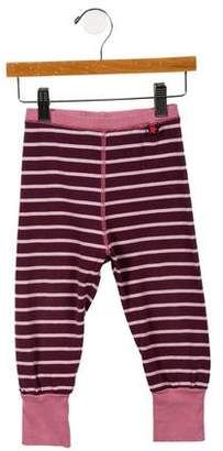 Molo Girls' Striped Jogger Pants