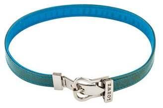 Loewe Leather Choker Necklace