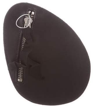 Maison Margiela Leather Zip Keychain w/ Tags