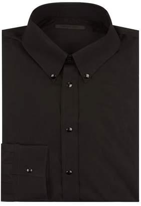 Helmut Lang Press Stud Poplin Shirt