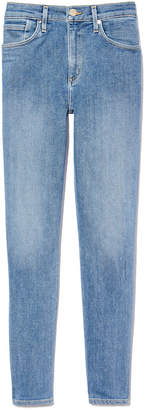 Gold Sign The Profit Mid-Rise Skinny Jeans