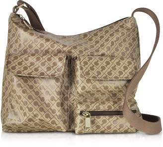 Gherardini Signature Fabric Softy Shoulder Bag w/Front Pockets