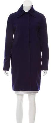 Chloé Button-Up Wool Coat