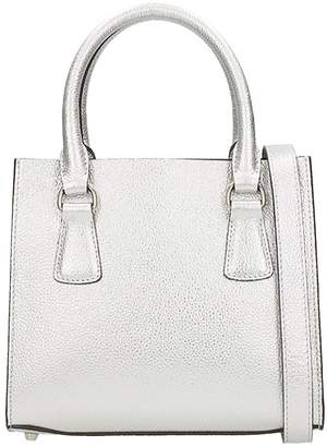 L'Autre Chose Mini Bag Merinos Silver Leather